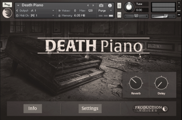 Death Piano GUI 1