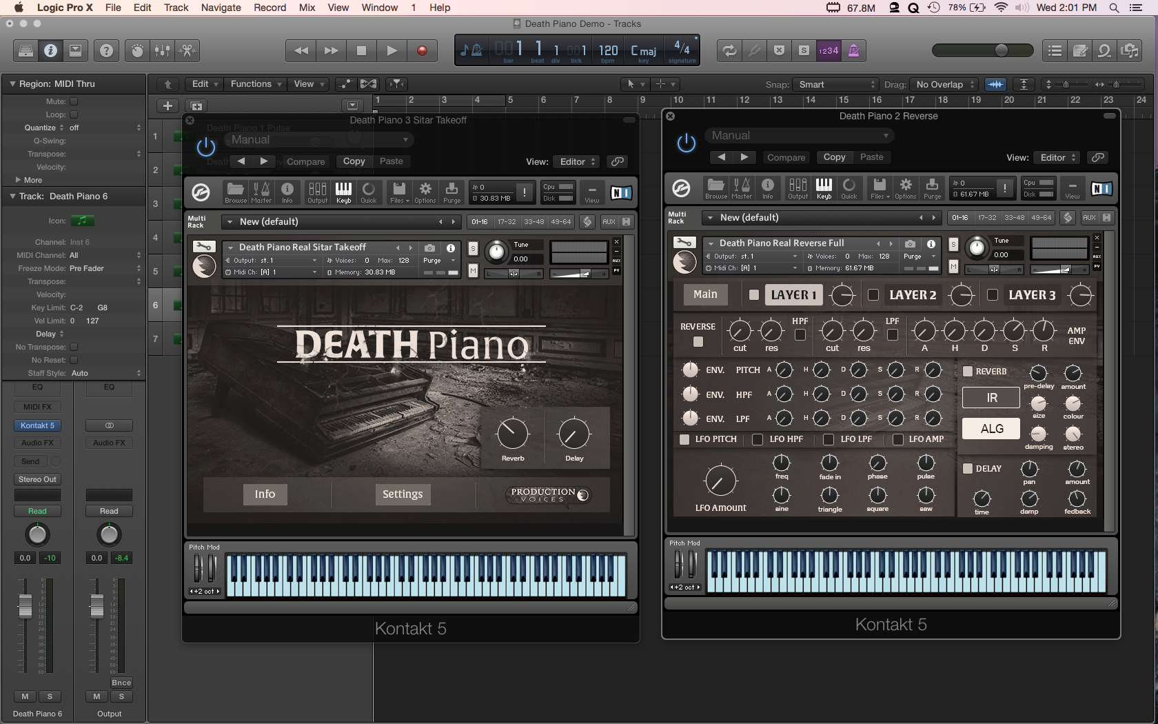 Birth of Death Piano