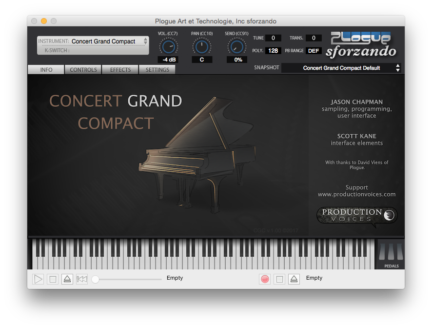 Concert Grand Compact Info Page