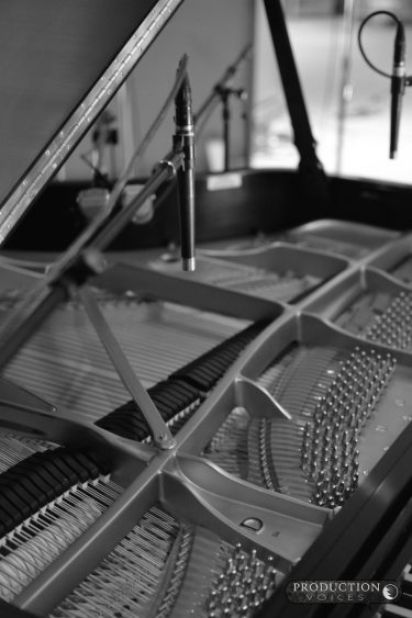 Concert Grand Session Mics D B&W